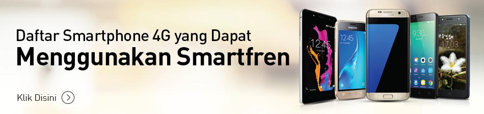 Daftar Hape 4g Yang Kompatibel Smartfren 4g