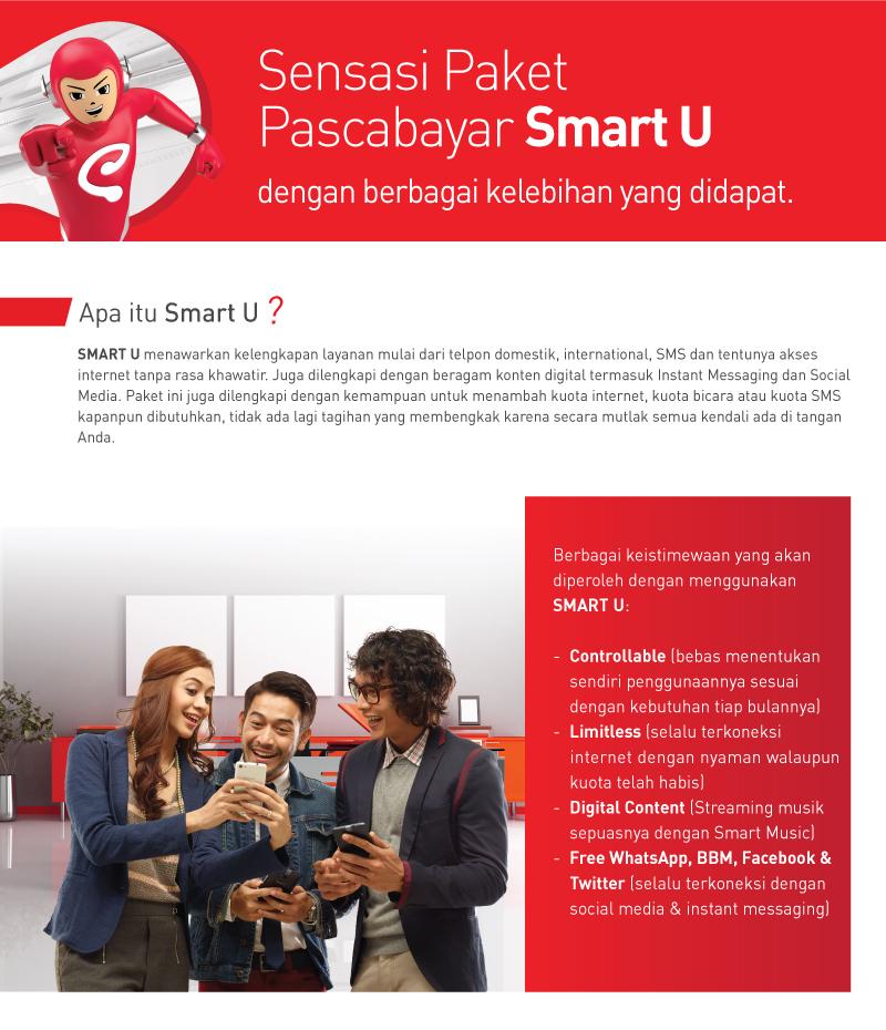 Smartfren | PASCA BAYAR - SMART U